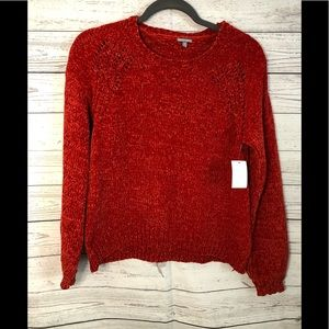 Charlotte Russe Crew- Neck Sweater